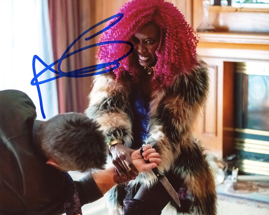 Anna Diop Signed Photo