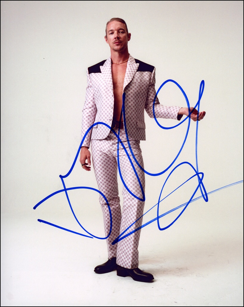 Diplo Signed Photo