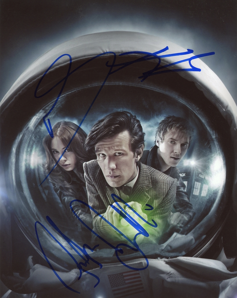 Doctor Who Signed Photo