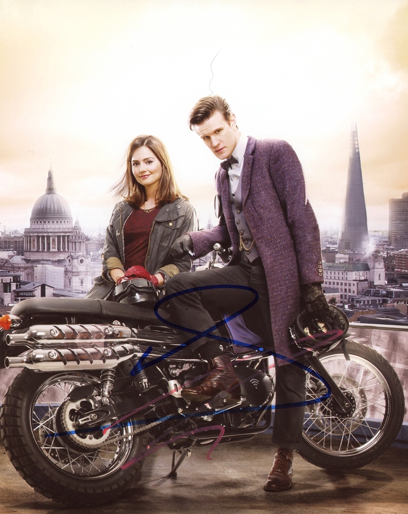 Matt Smith & Jenna Coleman Signed Photo