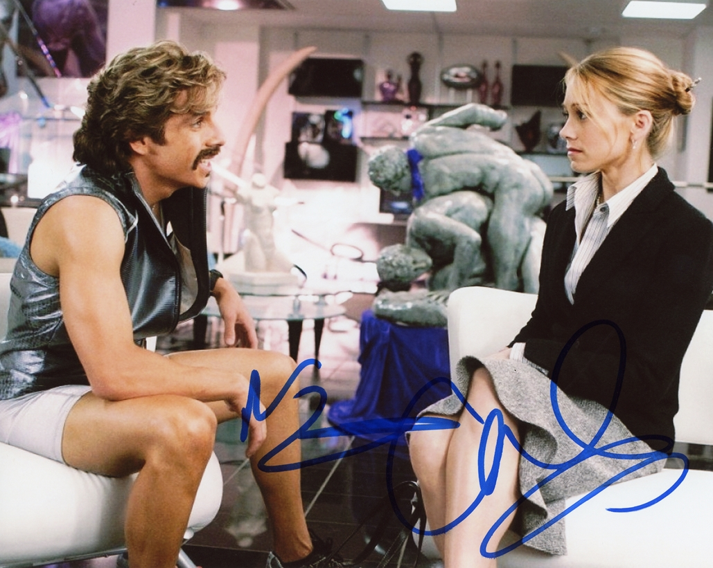 Ben Stiller & Christine Taylor Signed Photo
