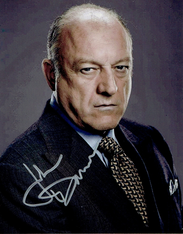John Doman Signed Photo