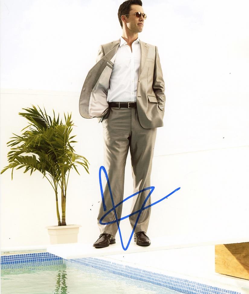 Jeffrey Donovan Signed Photo