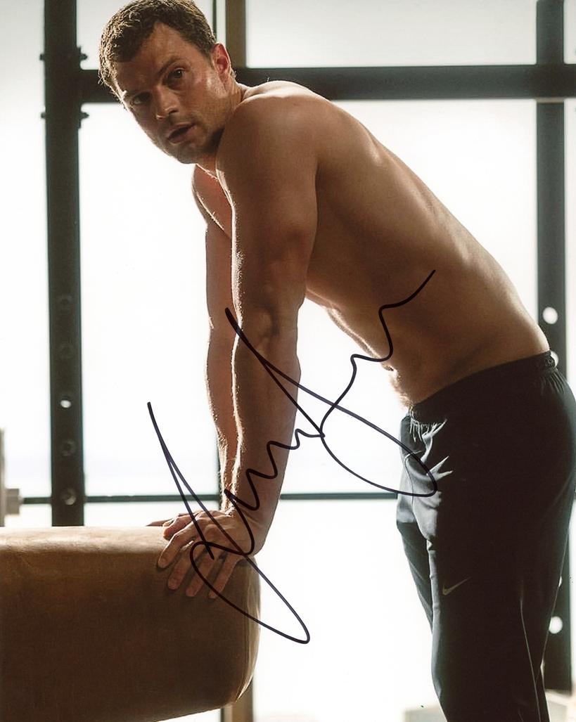 Jamie Dornan Signed Photo