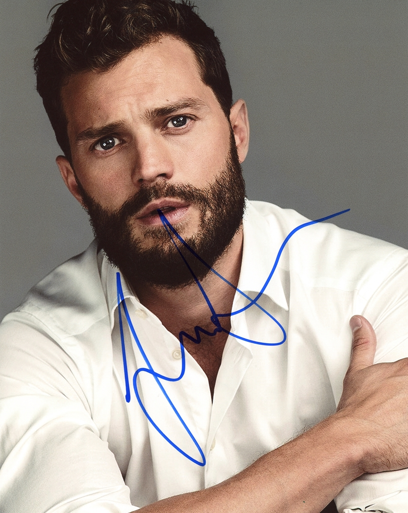 Jamie Dornan Signed Photo