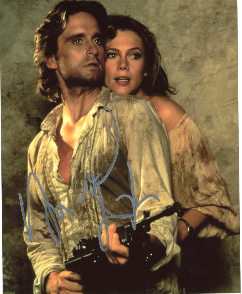 Michael Douglas Signed Photo