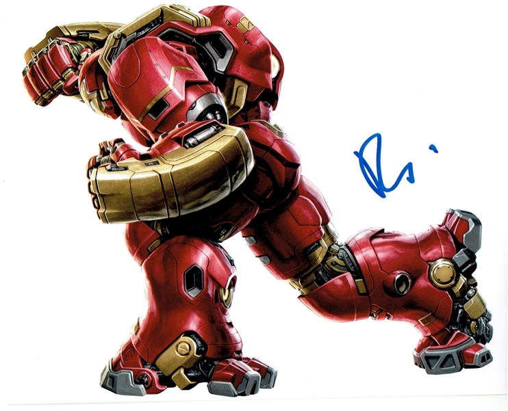 Robert Downey, Jr. Signed Photo