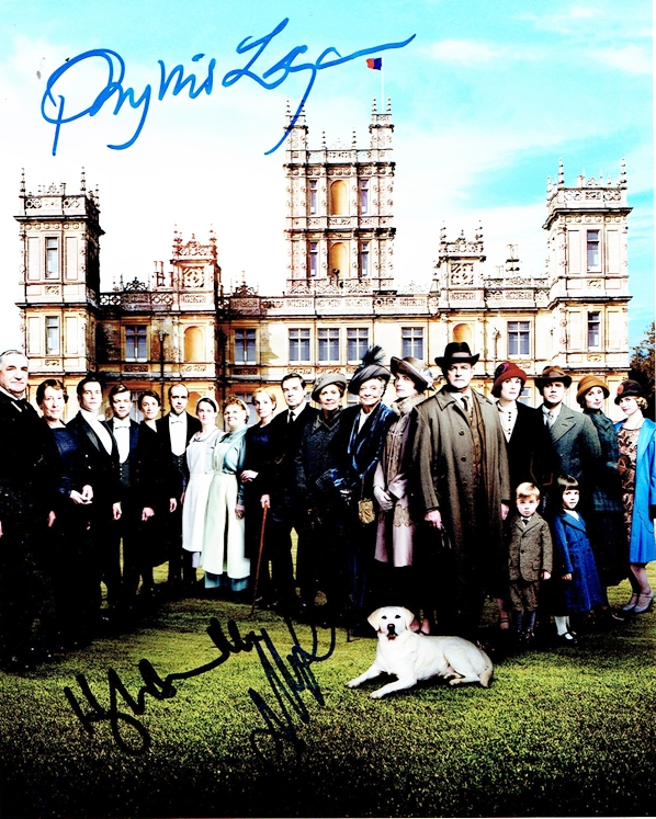 Downton Abbey Signed Photo