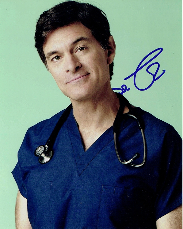 Dr. Oz Signed Photo