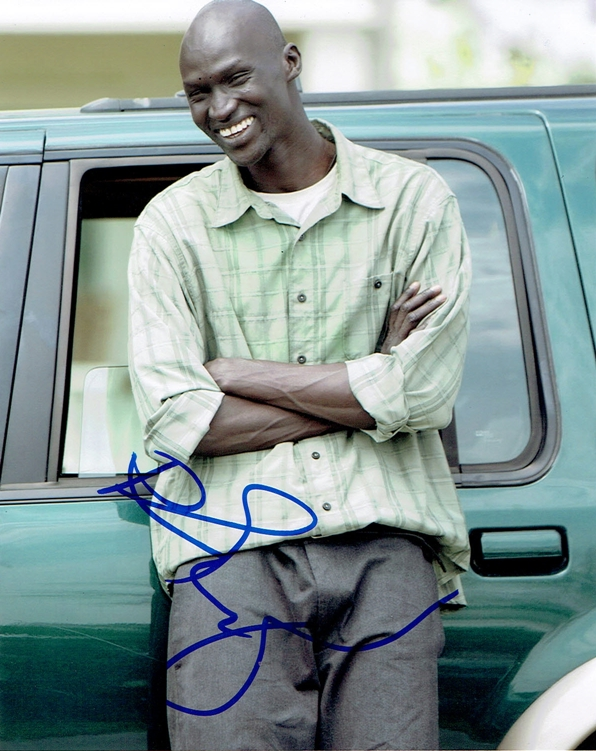 Ger Duany Signed Photo