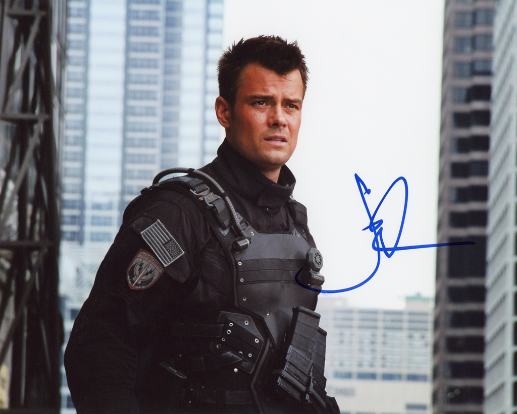 Josh Duhamel Signed Photo