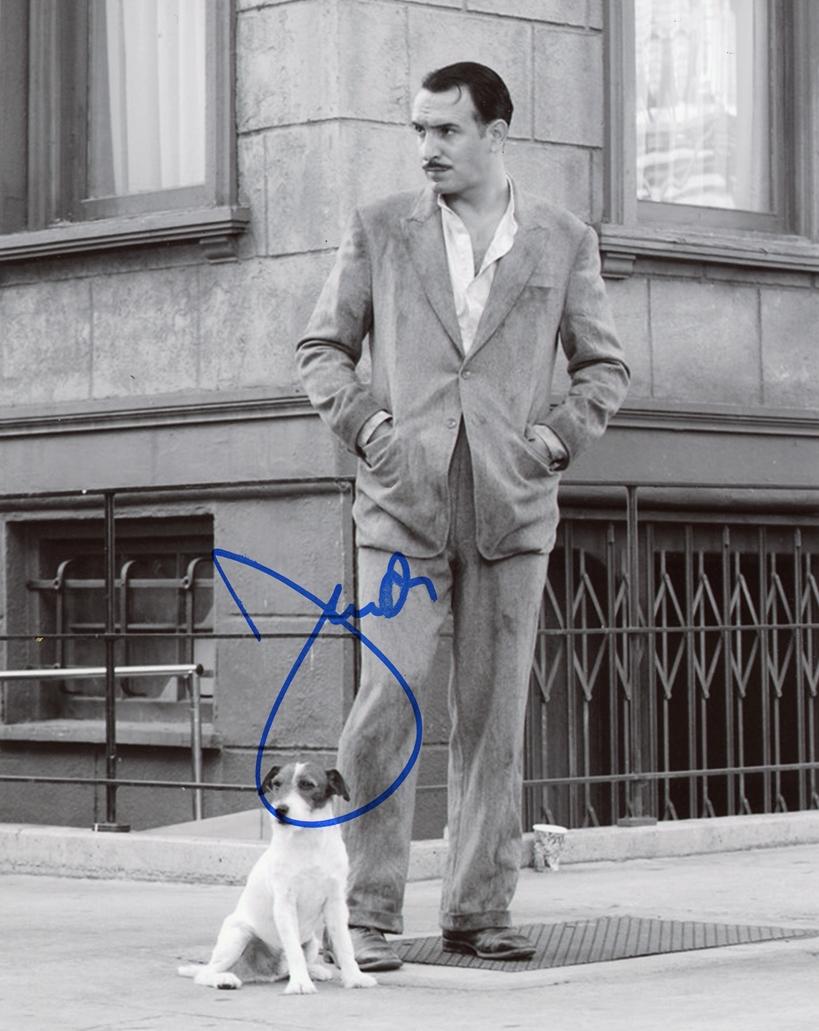 Jean Dujardin Signed Photo