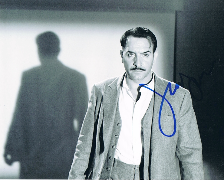 Jean Dujardin Signed Photo