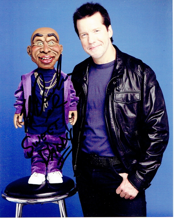 Jeff Dunham Signed Photo