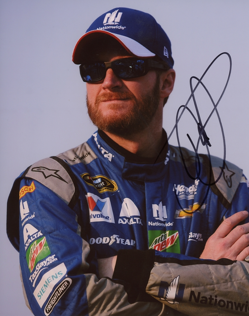 Dale Earnhardt, Jr. Signed Photo