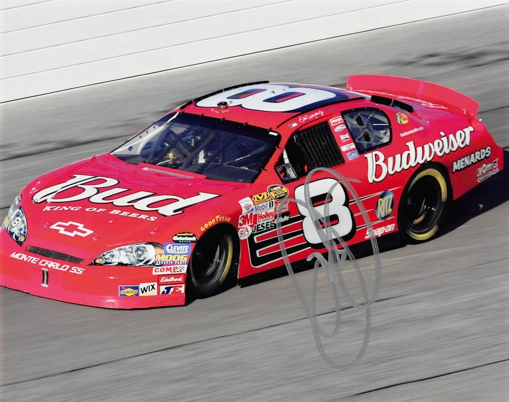 Dale Earnhardt, Jr. Signed Photo