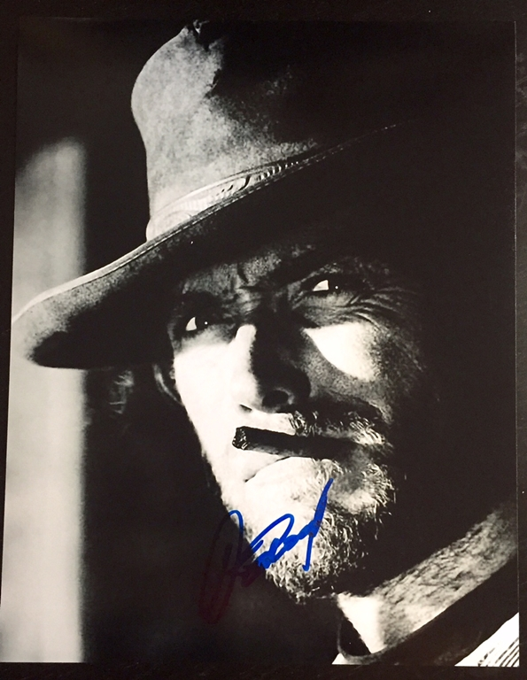Clint Eastwood Signed Photo