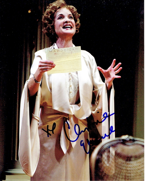 Christine Ebersole Signed Photo