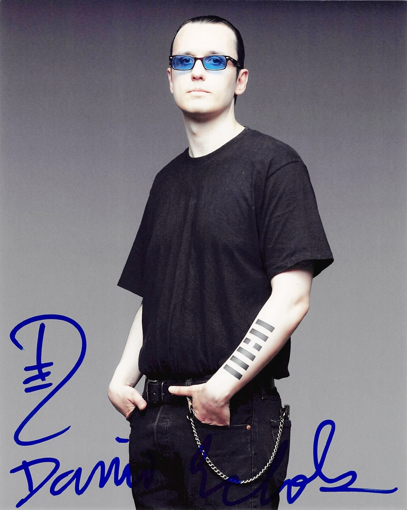 Damien Echols Signed Photo