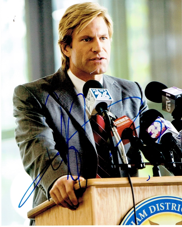 Aaron Eckhart Signed Photo