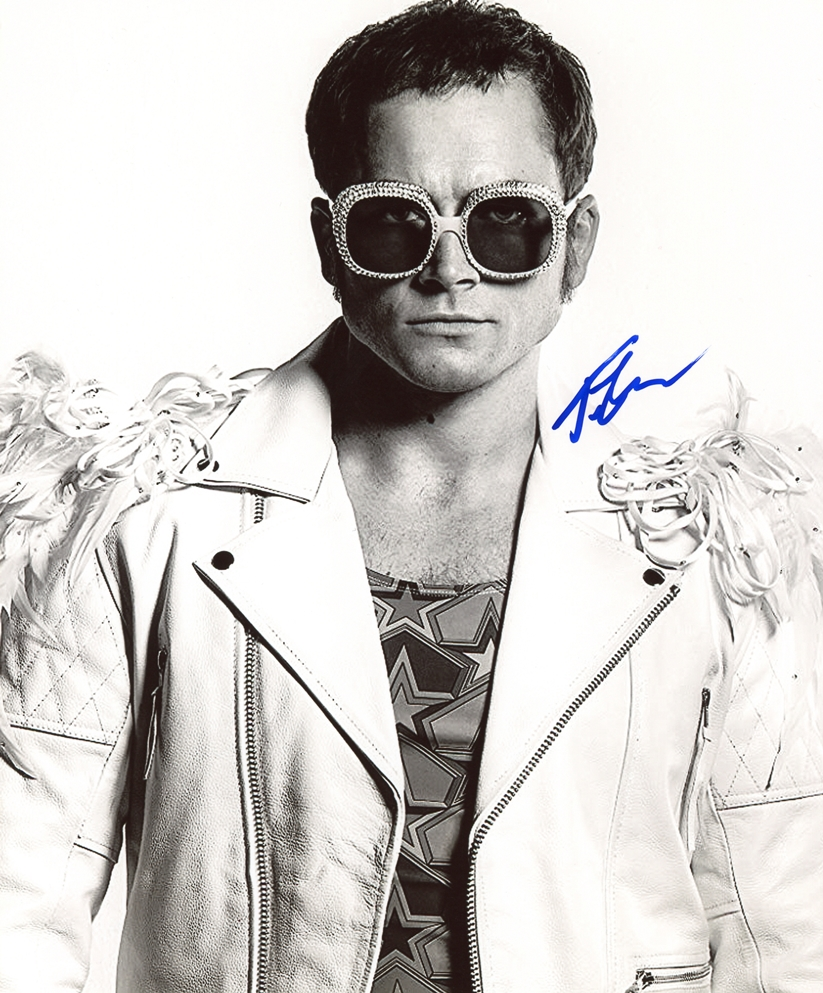 Taron Egerton Signed Photo