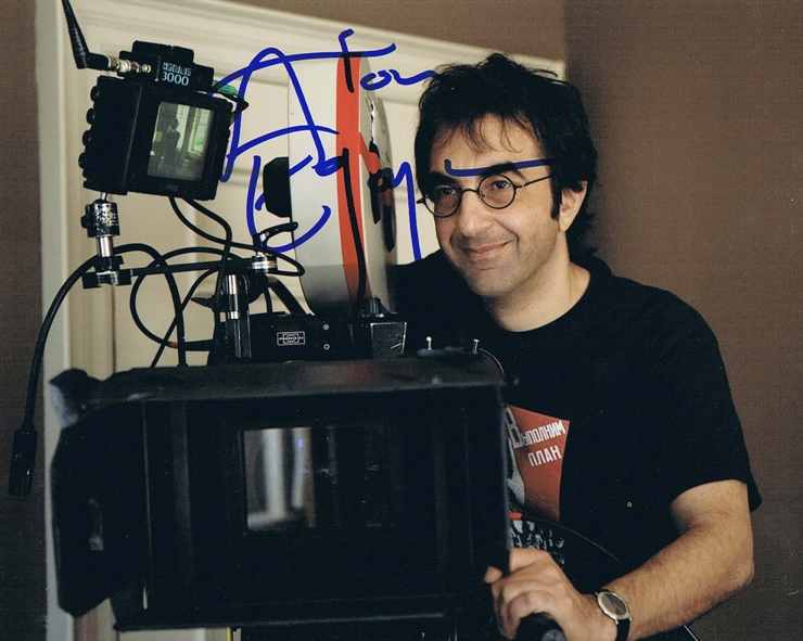 Atom Egoyan Signed Photo