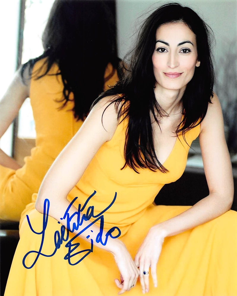 Laetitia Eido Signed Photo