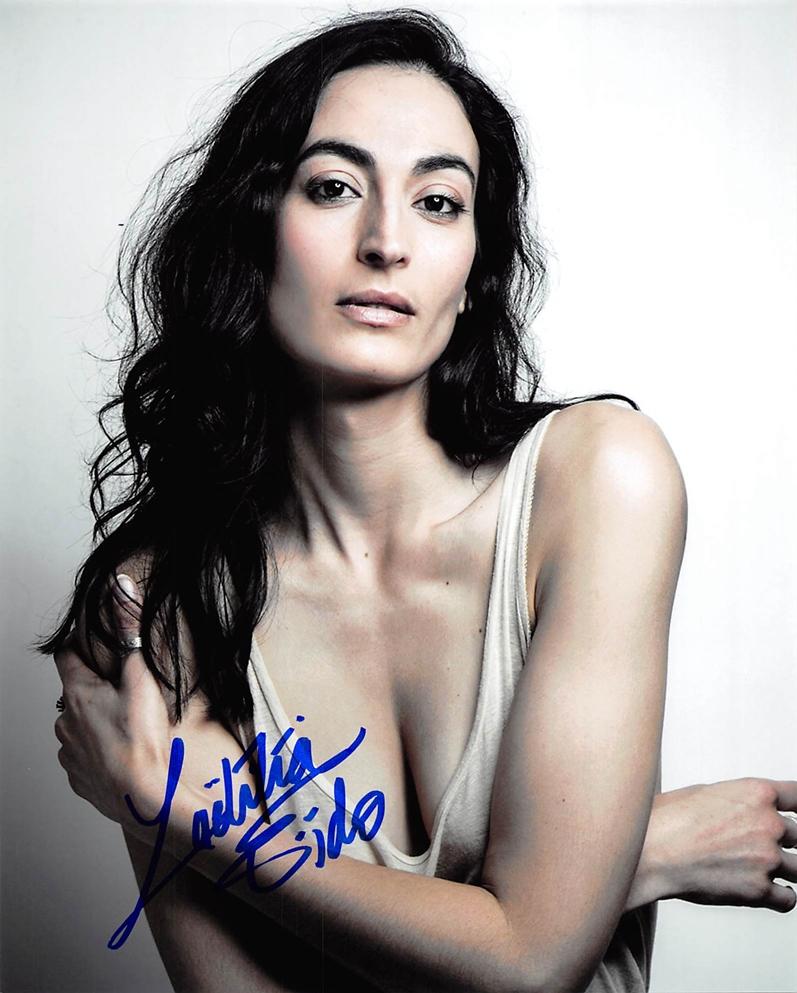 Laetitia Eido Signed Photo