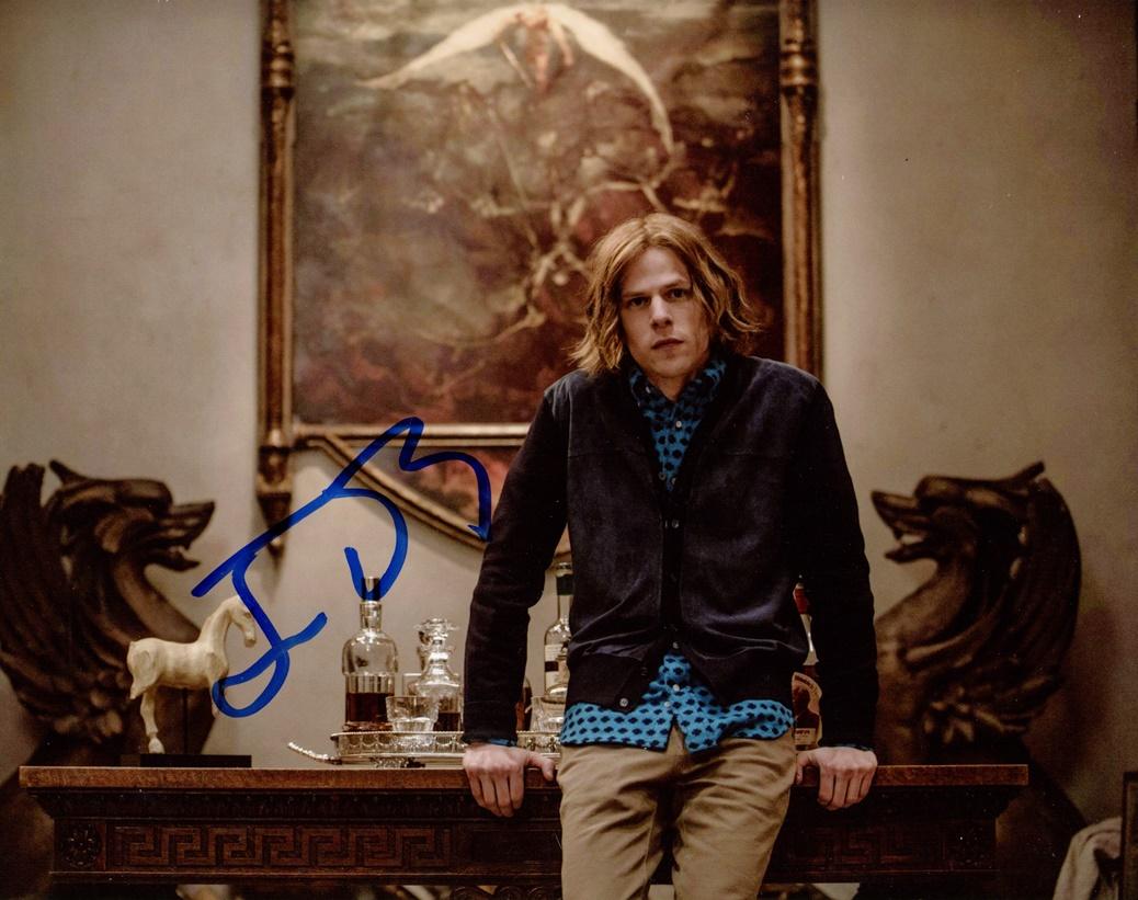 Jesse Eisenberg Signed Photo