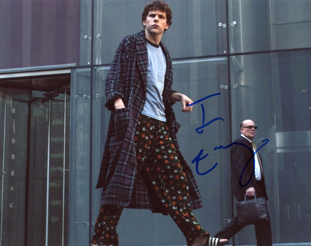 Jesse Eisenberg Signed Photo