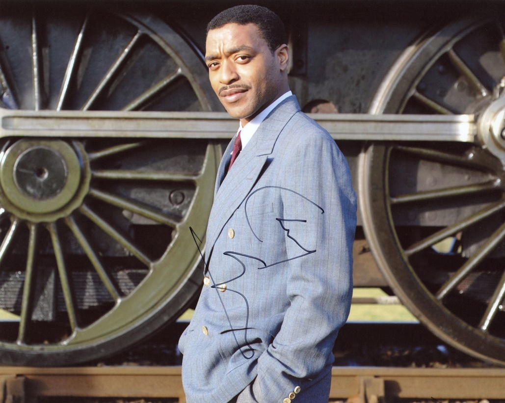 Chiwetel Ejiofor Signed Photo
