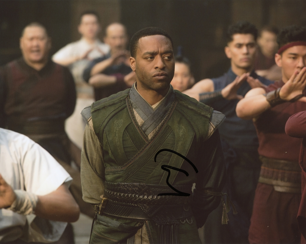 Chiwetel Ejifor Signed Photo