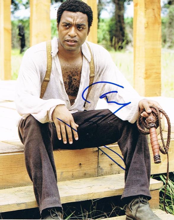 Chiwetel Ejiofor Signed Photo