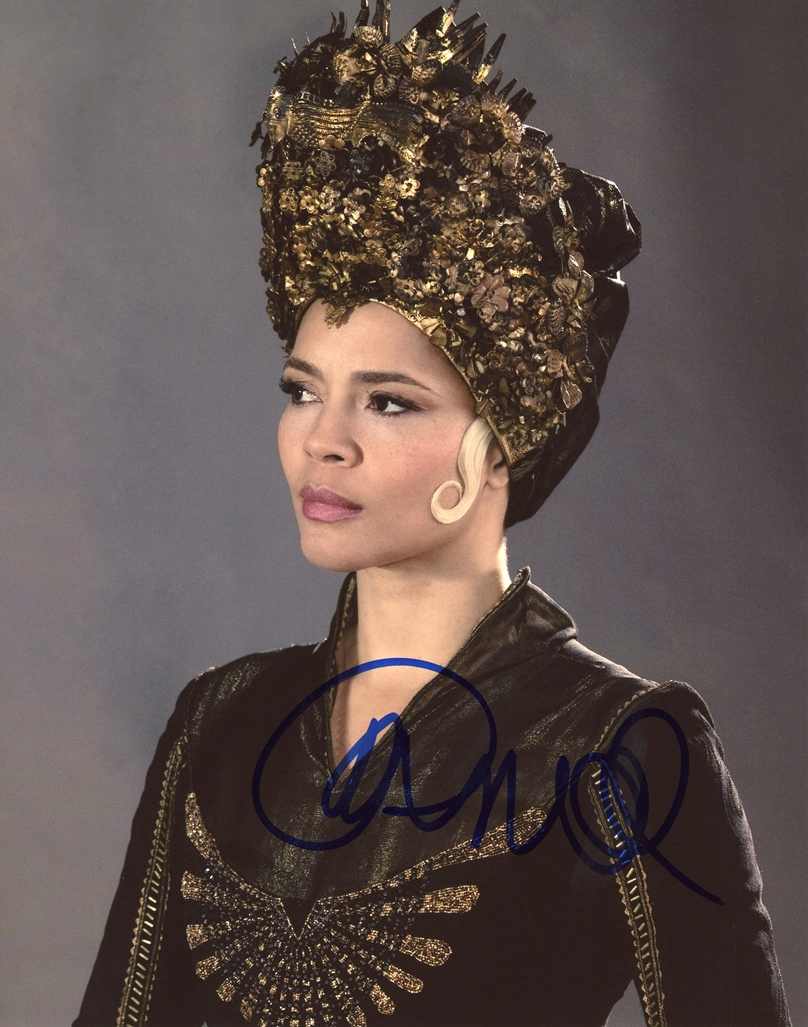 Carmen Ejogo Signed Photo