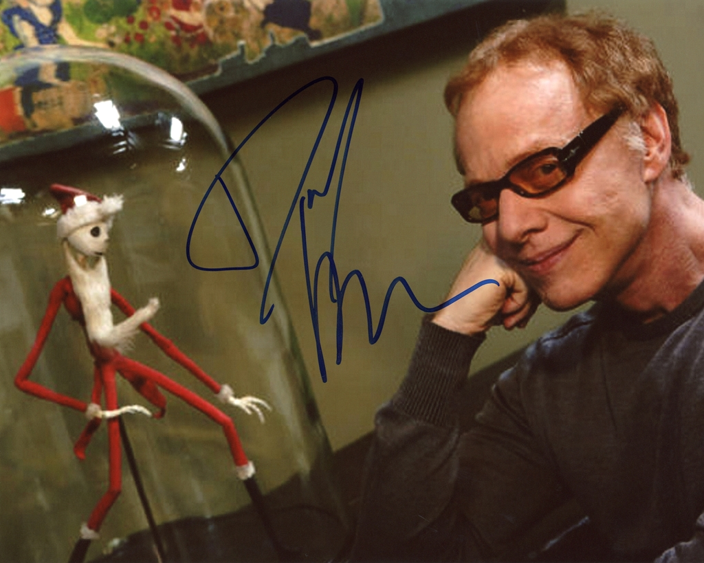 Danny Elfman Signed Photo
