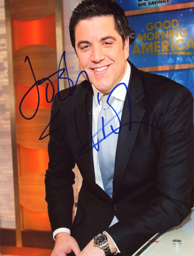 Josh Elliott Signed Photo