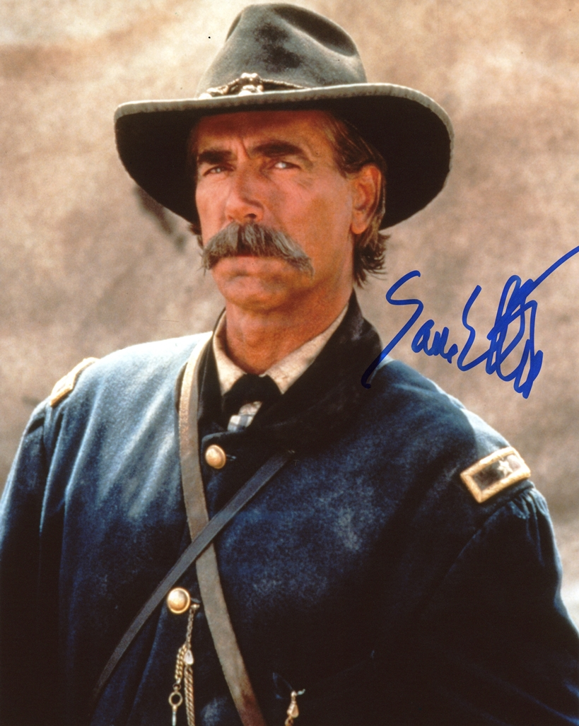 Sam Elliott Signed Photo