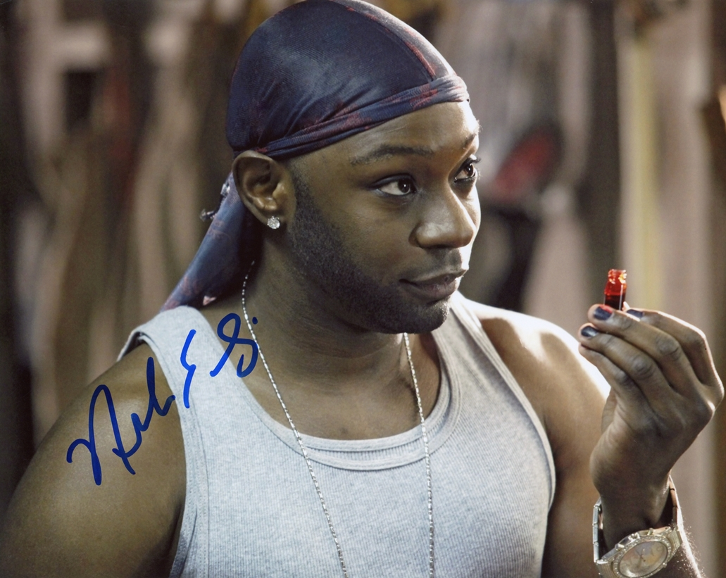 Nelsan Ellis Signed Photo