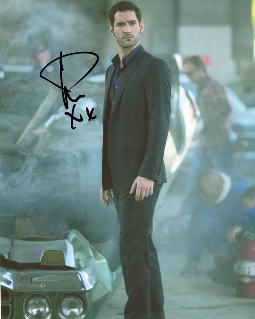 Tom Ellis Signed Photo