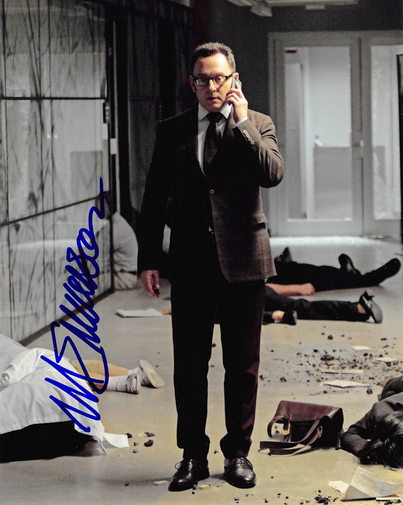 Michael Emerson Signed Photo