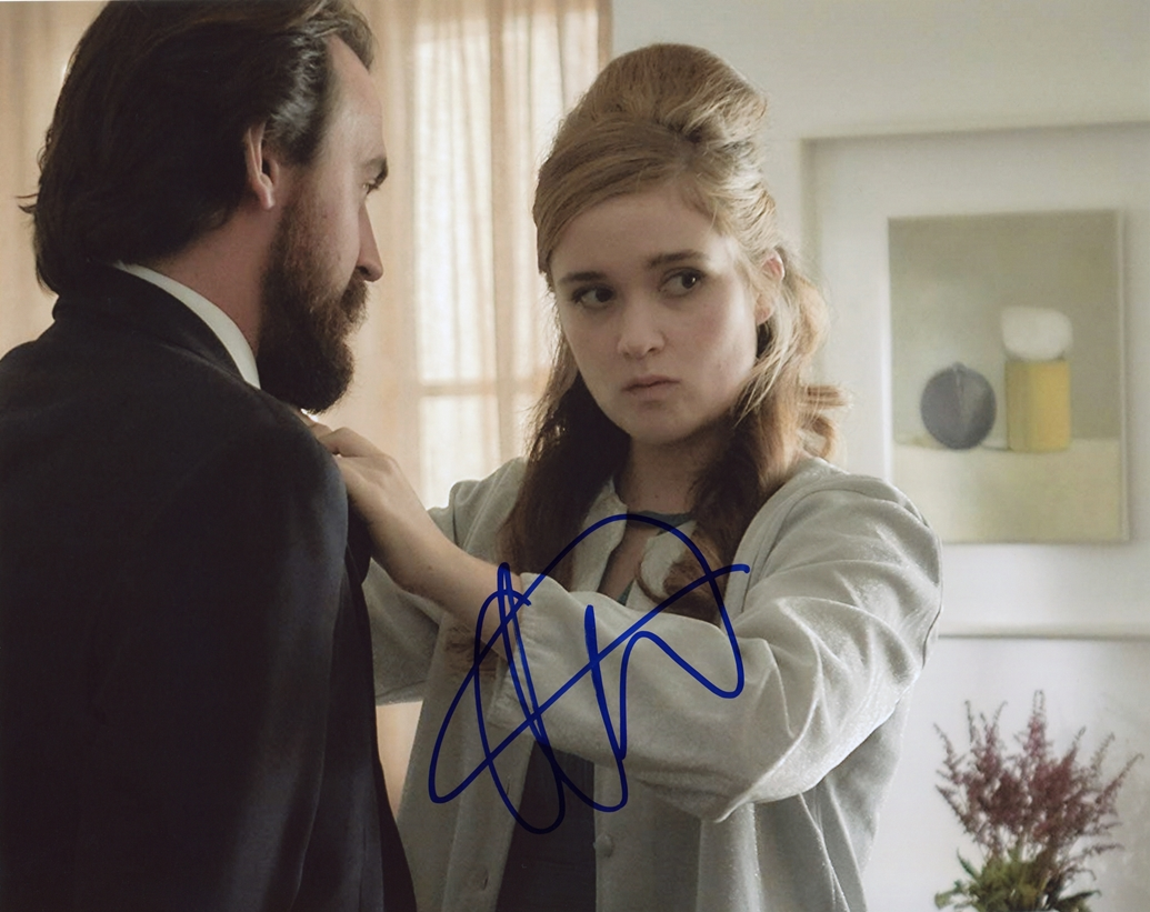 Alice Englert Signed Photo