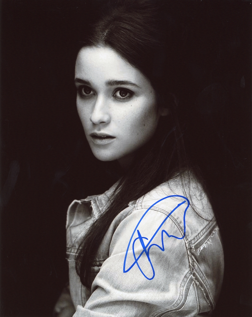 Alice Englert Signed Photo