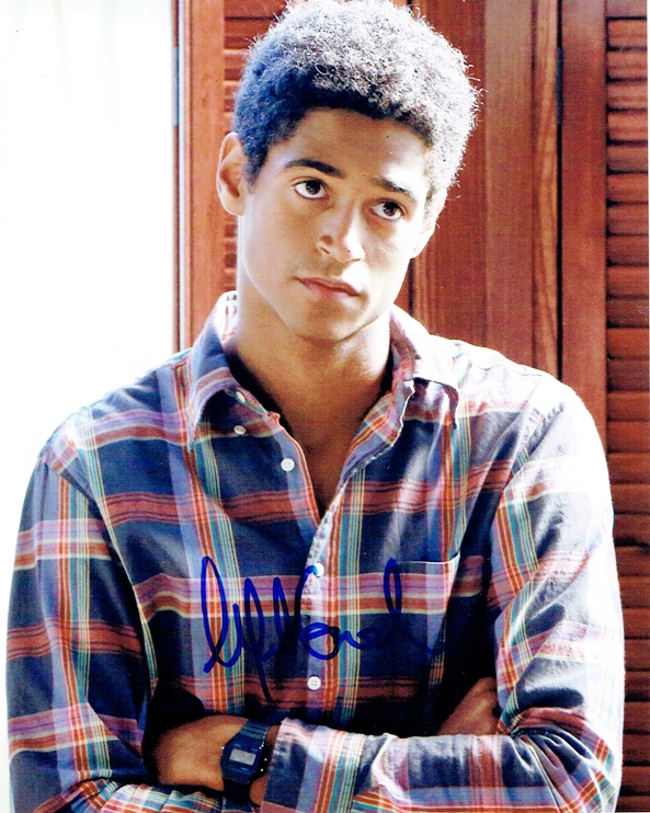 Alfred Enoch Signed Photo