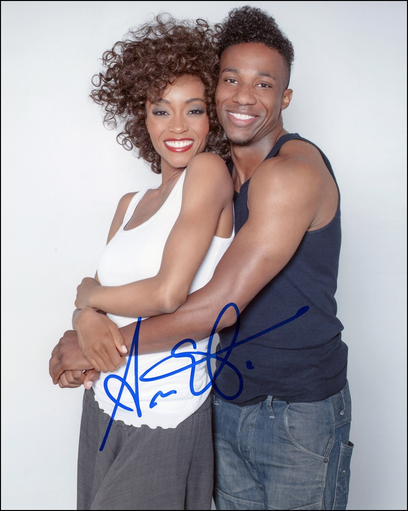 Arlen Escarpeta Signed Photo
