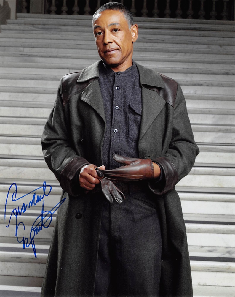Giancarlo Esposito Signed Photo