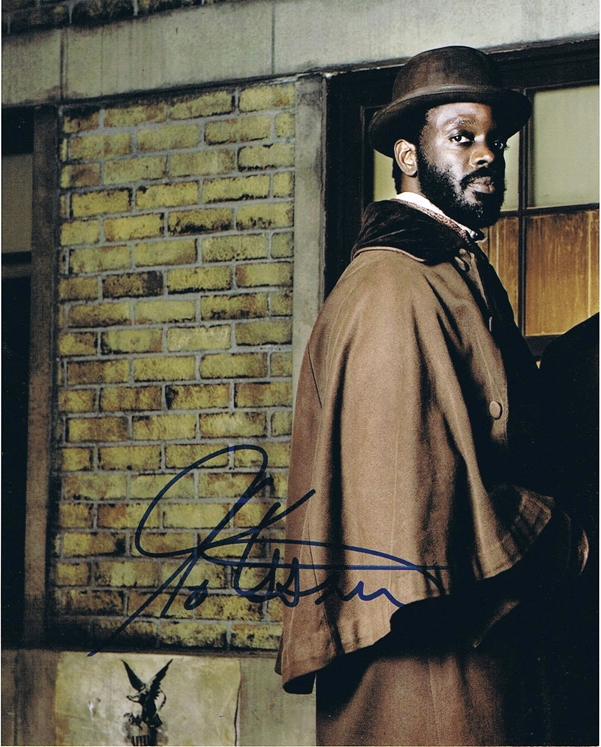 Ato Essandoh Signed Photo