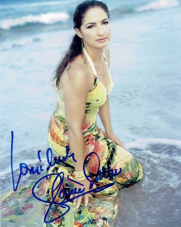 Gloria Estefan Signed Photo