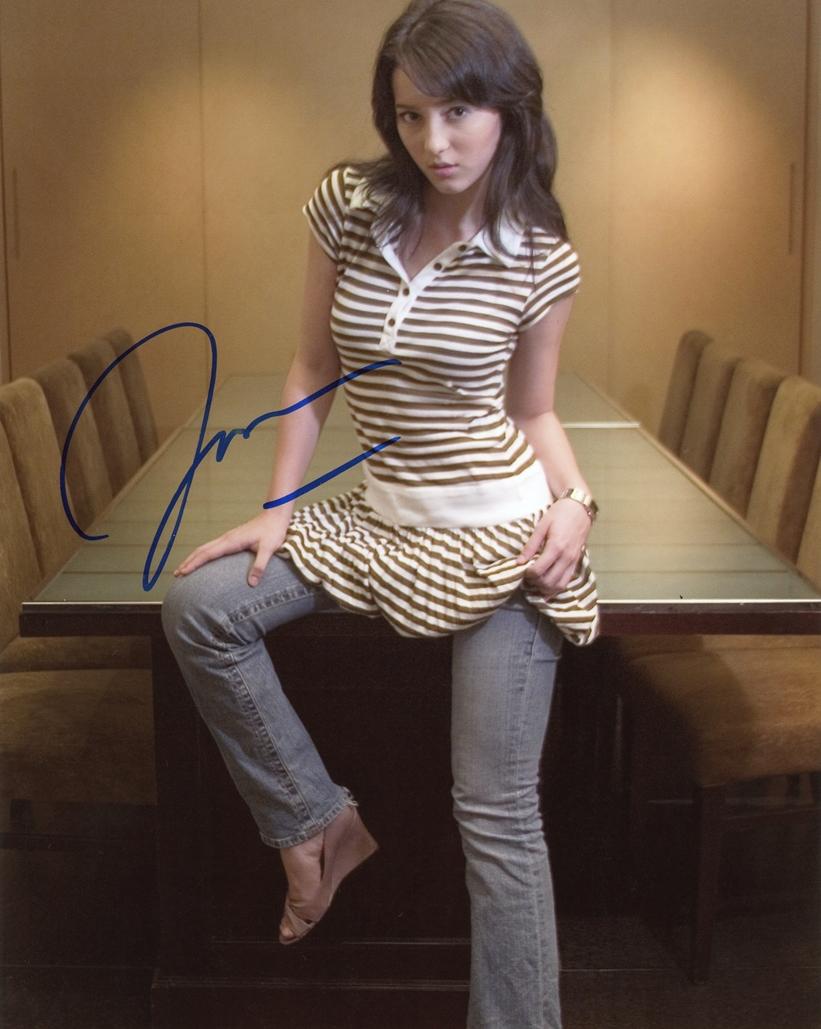 Julie Estelle Signed Photo