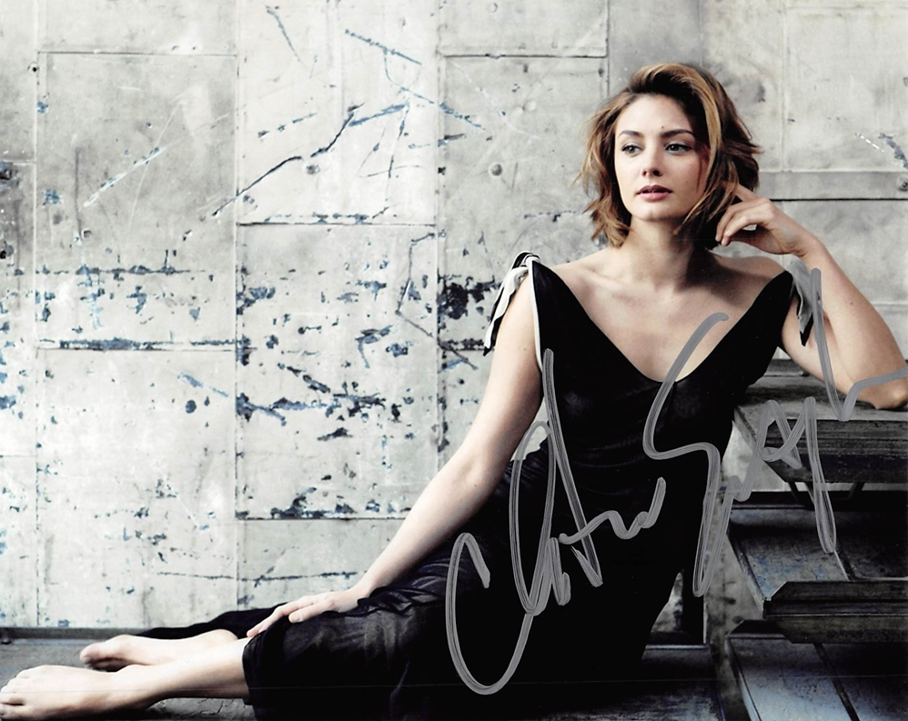 Christine Evangelista Signed Photo
