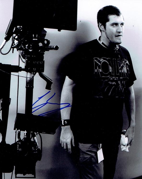 Gareth Evans Signed Photo